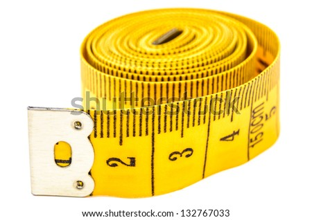 Flexible meter roll. Photo Close-up - stock photo