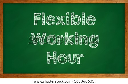 Flexible Working Hour Stock