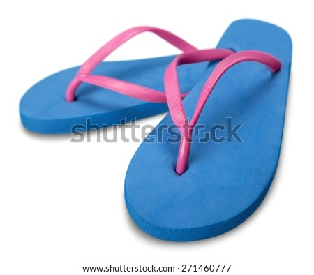 Flip-flop. Stock Photo Sandals - stock photo