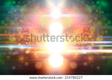 Floodlight - stock photo