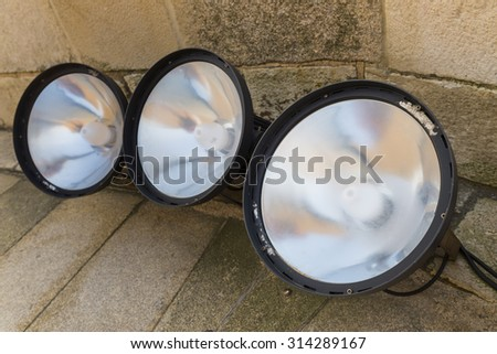 Floor bulb. - stock photo