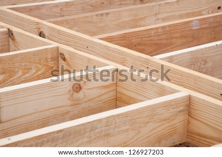 Joist stock photos images pictures shutterstock for Floor joist construction