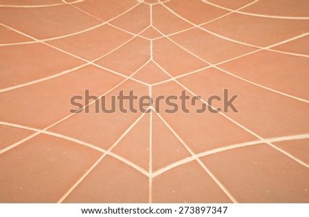 floor tiles background soft focus,  Background with a pattern of floor tiles soft focus. - stock photo