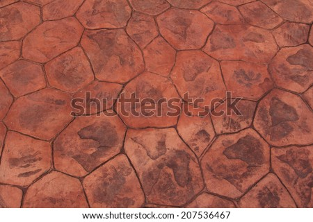 Floor tiles useful texture as a background - stock photo
