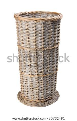floor vase, basket - stock photo