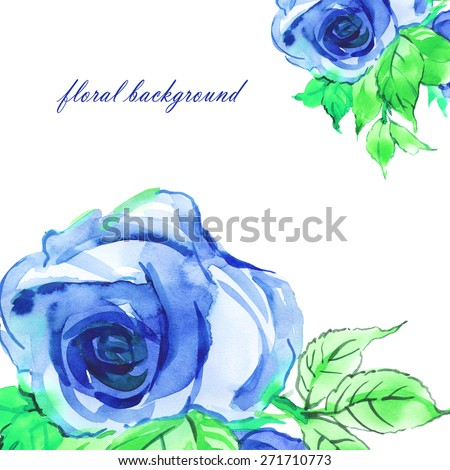 Floral background delicate mauve roses-1 - stock photo