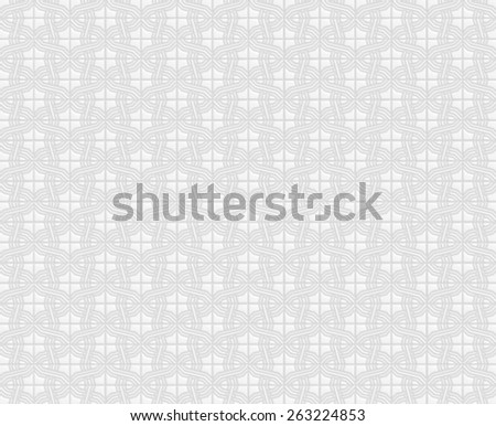 Floral 3d Pattern Background. - stock photo