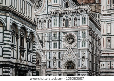 Florence architectures - stock photo