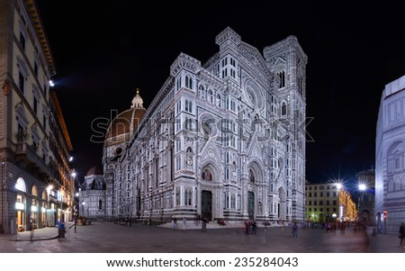 Florence Cathedral, Firenze Duomo, Italy - stock photo