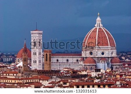 Florence, Cathedral, Italy - stock photo