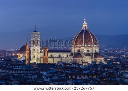 Florence Duomo, Florence, Tuscany, Italy - stock photo