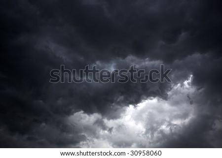 Florida Storm Clouds2 - stock photo