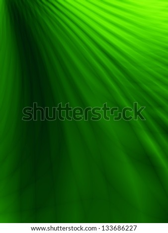 Flow wave green nature abstract background - stock photo