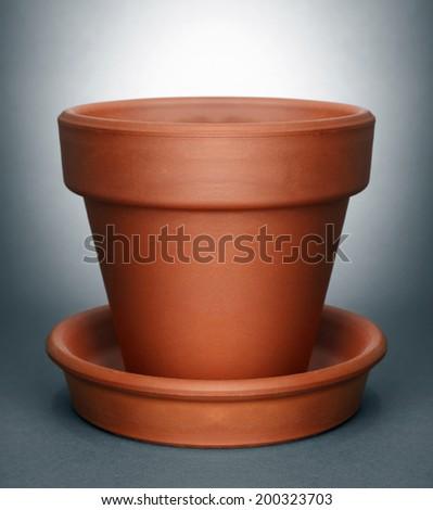 flower pot - stock photo