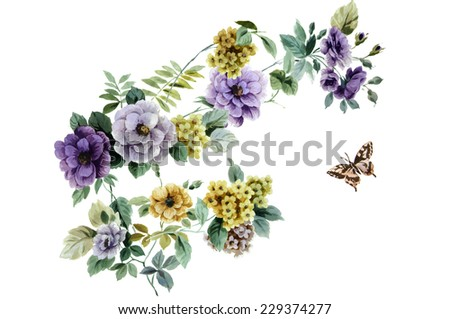 flowers - stock photo