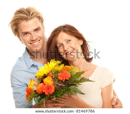 flowers for you - stock photo
