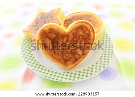 Fluffy and Delicious Pancakes - stock photo