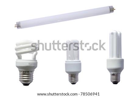 Fluorescent - stock photo