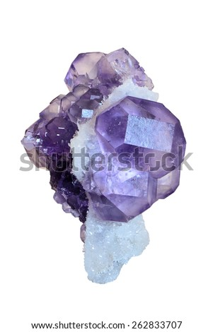 Fluorite from China.  - stock photo