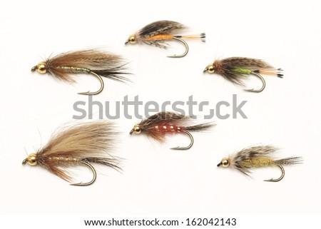 Fly fishing, bait - stock photo