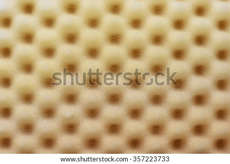 Foam acoustic sponge surface background - stock photo