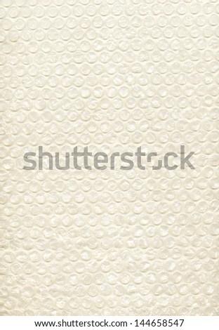 foam bag  background - stock photo
