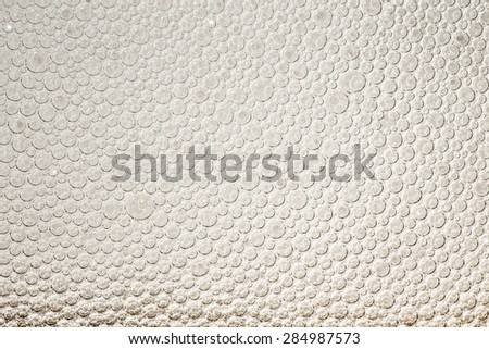 Foam beer background. - stock photo