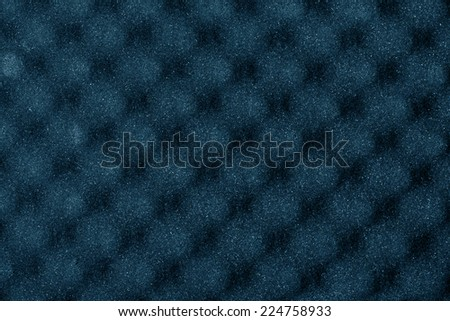 Foam rubber acoustic background  - stock photo
