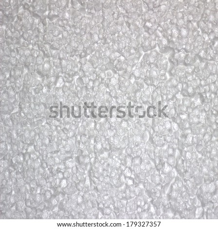 Foam texture background. - stock photo