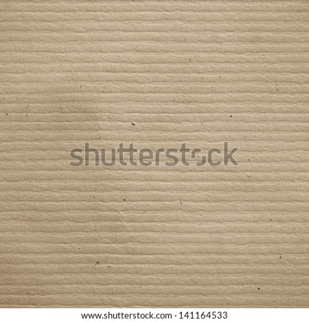 folded paper texture background beige cardboard - stock photo