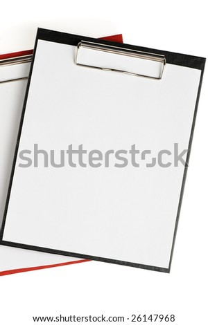 Folder for papers - stock photo