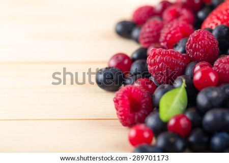 Food, fresh, summer. - stock photo