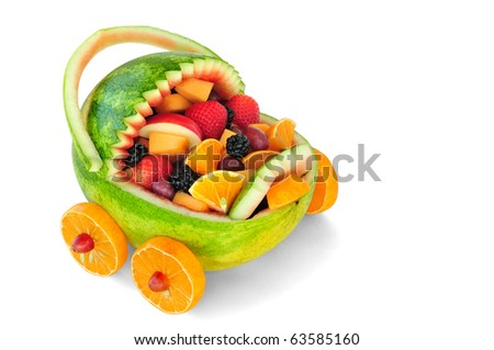 Food/fruits that make you stay young - stock photo
