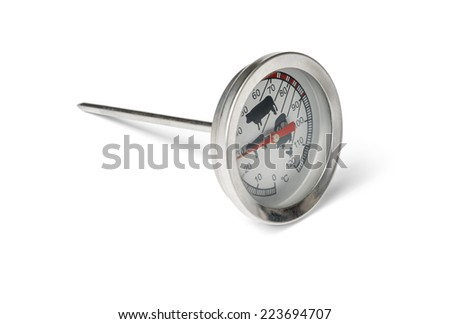 Food Meat thermometer - stock photo