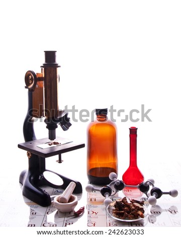 Food science and technology. - stock photo