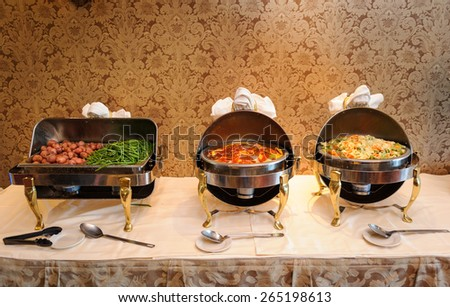 Food tray - stock photo