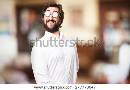fool proud man - stock photo