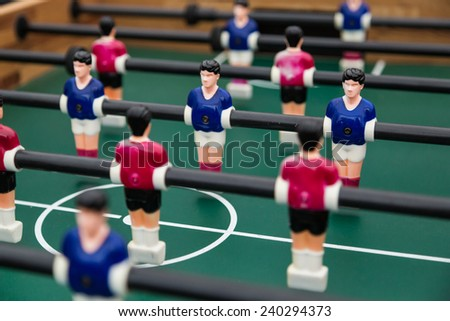 Foosball Table - stock photo
