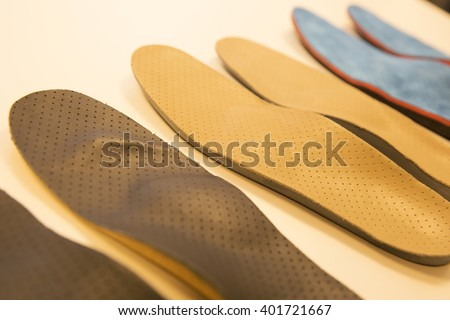 foot podiatrist shoe  - stock photo