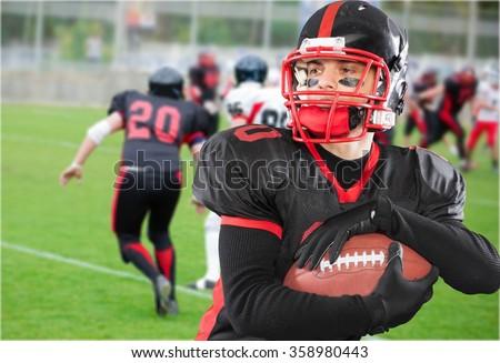 Football. - stock photo