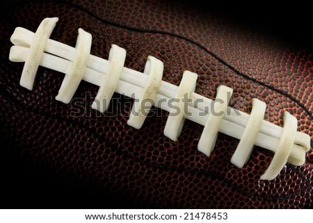 Football closeup - stock photo