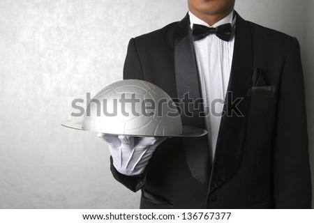 Football dinner - stock photo