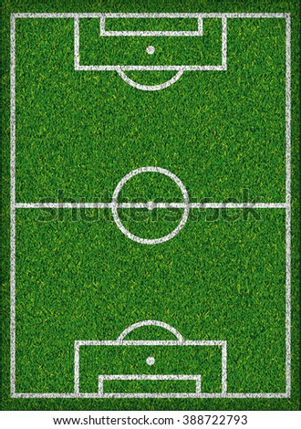Football field Soccer concept. Jpeg version - stock photo