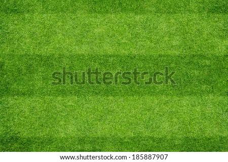 Football ground - stock photo