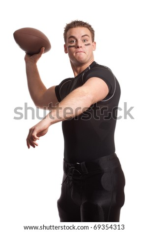 Football Player - stock photo
