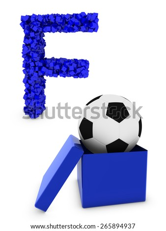 football symbol - stock photo