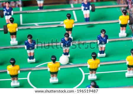 football table - stock photo