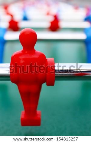 Football toy - stock photo