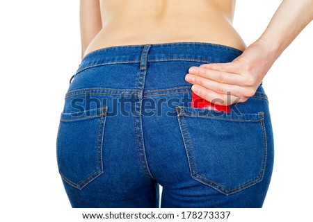 For a safe sex dont forget to use condom - stock photo