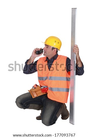 foreman - stock photo